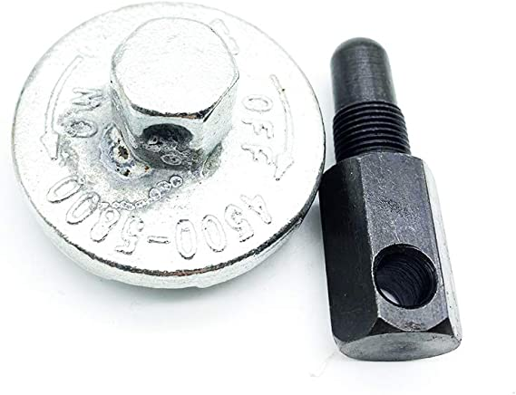 Powerful Tools Herramientas de extracción de embrague de motosierra, herramienta universal de desmontaje de embrague de pistón para Husqvarna Stihl Echo 2 Cycle 14 mm