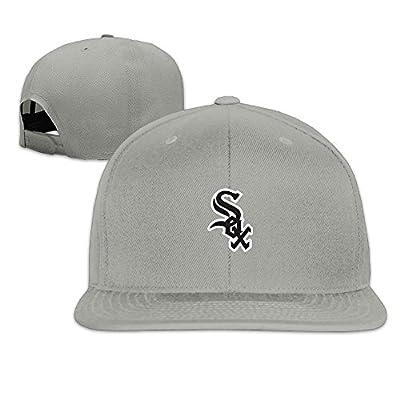 Chicago White Sox Outdoor Sport Hats Adjustable NY Baseball Cap.