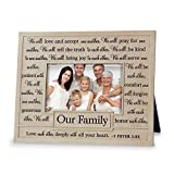 Lighthouse Christian Products One Another Our Family Frame, 4 x 6''