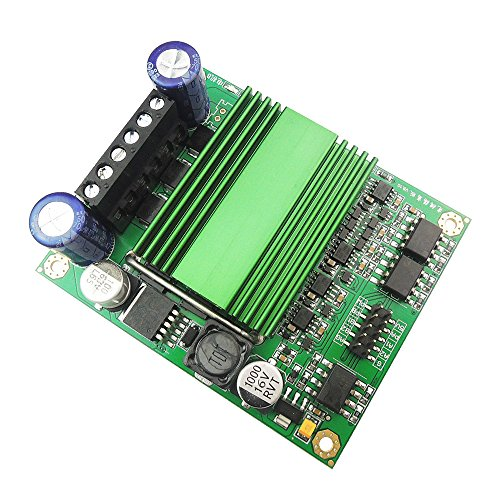 uniquegoods Ultra High Power 100A DC Drive Module Motor Speed Controller Dual Channel H-bridge Optocoupler Isolation Easy Control for Robot chariot competition Freescale games by uniquegoods