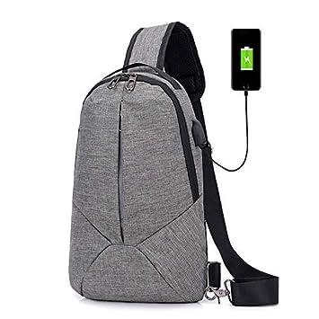 Bosco Basic Mochila con Carga USB Unisex Ideal Viajes, Bolso ...