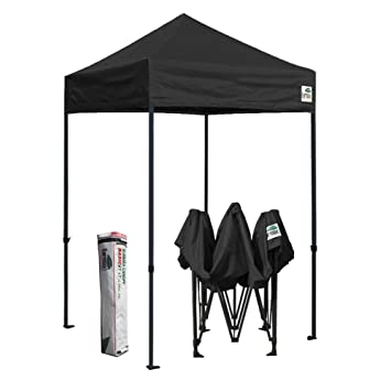 Eurmax 5 X 5 Ez Pop Up Tent, Outdoor Patio Instant Canopy, With Deluxe