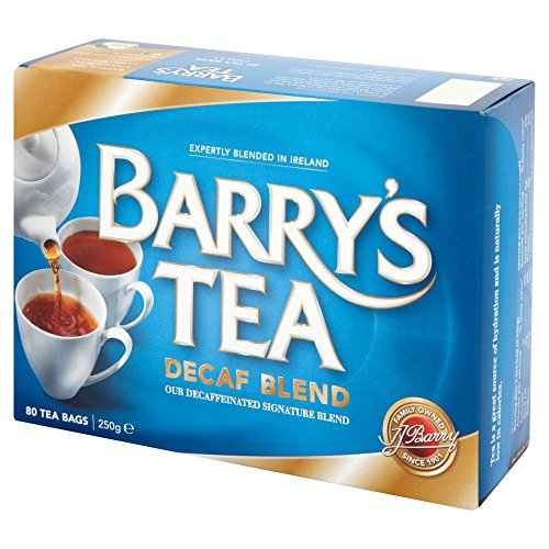 Decaffeinated Irish Tea - Barry's Tea Bags, Decaffeinated, 80 Count