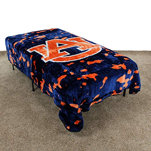 College Covers Auburn Tigers Throw Blanket/Bedspread