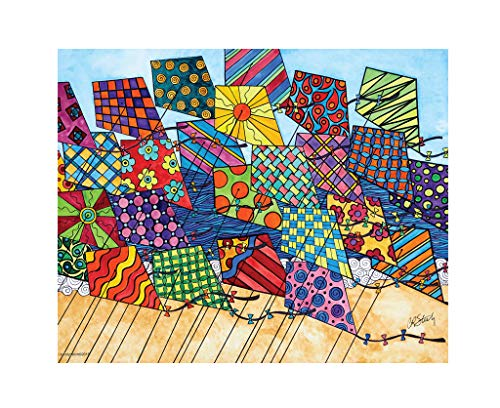 Go Fly A Kite Kites - Heritage Puzzle Let's Go Fly A Kite - 1000 Piece Jigsaw Puzzle