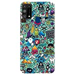 Shivcase Polycarbonate Multicolour Back Cover for Samsung Galaxy M31