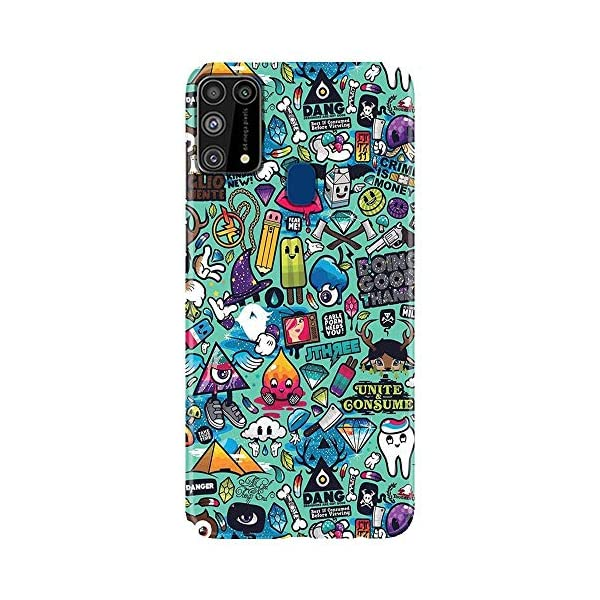 Shivcase Polycarbonate Multicolour Back Cover for Samsung Galaxy M31 2021 August PREMIUM PRINTED CASE COVER: Shivcase 3D mobile back cases are printed with high-end Korean Ink Technology. Covers are made with high quality premium hard Polycarbonate material with fully matte finish for upgraded style and durability. ACCURATE FITTING: Our cases perfectly fits your phone as they are made with high precision moulds covering sides and corners properly with highly accurate cut-outs for all ports and buttons. LIFETIME WARRANTY: Shivcase provides lifetime warranty for the print quality. In case the color of our case fades away with time, we will provide you a new case with no questions asked. Please note that this warranty is only for colors, and is not applicable on rough usage at your end.