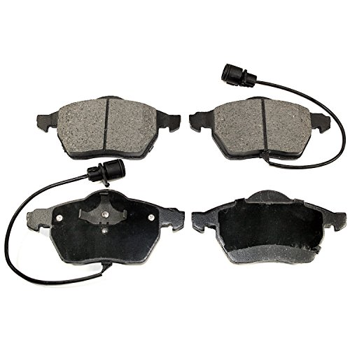 DuraGo BP840C MS Semi-Metallic Front Brake (A4 Quattro Front Brake Pads)