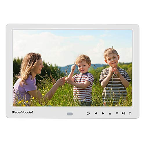 RegeMoudal Digital Photo Frame,12 Inch Electronic Photo Frame with LED Screen 1080P...