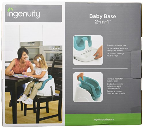 Ingenuity Baby Base 2-in-1 Seat, Ultramarine Green by Ingenuity (Image #4)