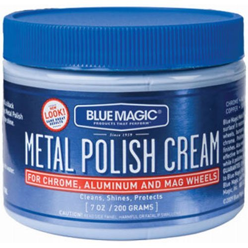 BLUE MAGIC 400 7Oz Mtl Polish Cream - 6 Pack