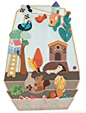 ORIBEL VertiPlay (Wall Toy) Enchanted Garden, Puzzle Toy and Nursery Room Decor | Easy to Install, Just Stick & Play