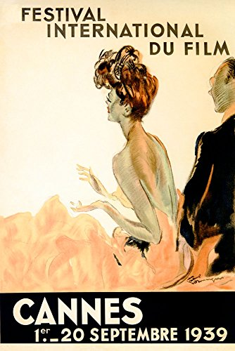 1939 Cannes Film Movie International Festival French Riviera