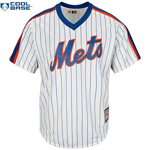 Dwight Gooden New York Mets #22 MLB Men's Cool Base 1969 Cooperstown Pullover Jersey (1969 Jersey)