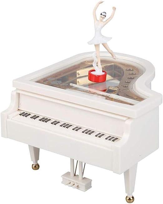 Deeabo Caja Musical de Piano Caja de Música Clásica Mecánica con ...