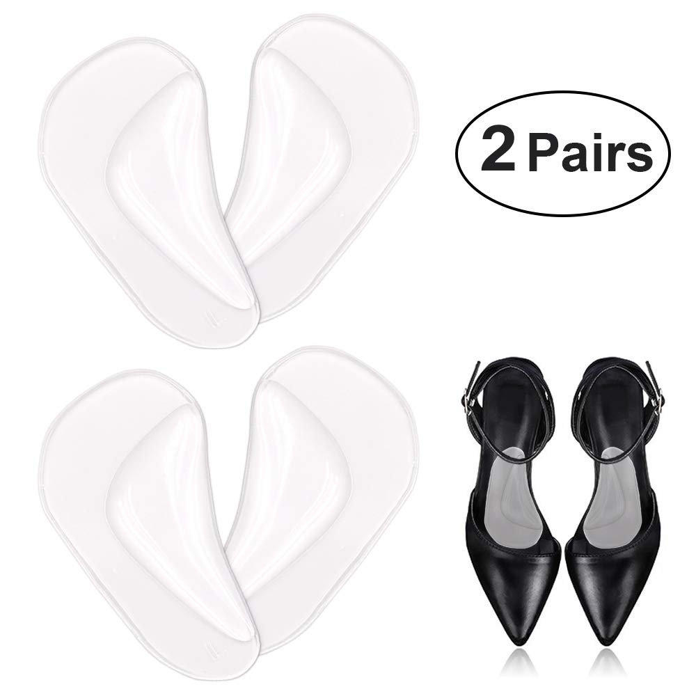 Arch Support Gel Insole & Insert for Flat Foot and Plantar Fasciitis, Relieve Pain for Women and Men