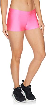 Rockwear Activewear Women's Coloured Booty Short from Size 4-18 for Booty Bottoms Leggings + Yoga Pants+ Yoga Tights