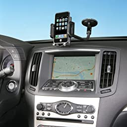 Kensington Universal Windshield/Vent Car Mount for iPhone 6, iPhone 5/4S/4 and Samsung Galaxy S5 and S4