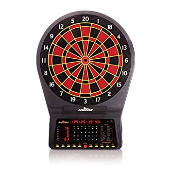 Image of Arachnid Cricket Pro 750 Electronic Dartboard Features 36 Games with 175 Variations for up to 8 Players Darts & Equipment