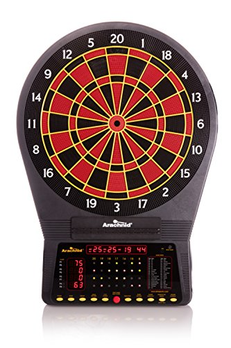 Arachnid Cricket Pro 750 Electronic Dartboard Features 36 Games 175 Variations up to 8 Players
