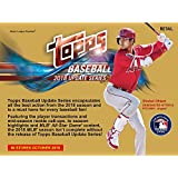 2018 Topps Baseball Update 13 Pack Exclusive Value Box - Baseball Wax Packs