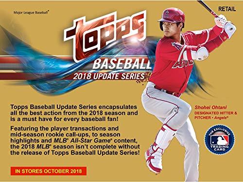2018 Topps Baseball Update 13 Pack Exclusive Value Box - Baseball Wax Packs