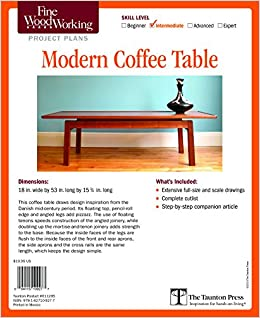 Fine Woodworking S Modern Coffee Table Plan Fine Woodworking
