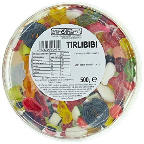 Haribo Tirlibibi Gummibärchen-Box 500 Gramm: Amazon.de: Lebensmittel ...