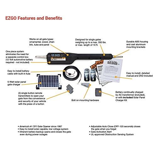 Mighty Mule Ezgo Solar Automatic Gate Operator Buy