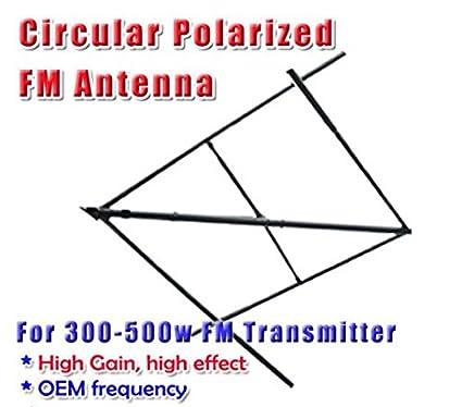 GOWE Circular Elliptical Polarized Antenna FM antenna 300