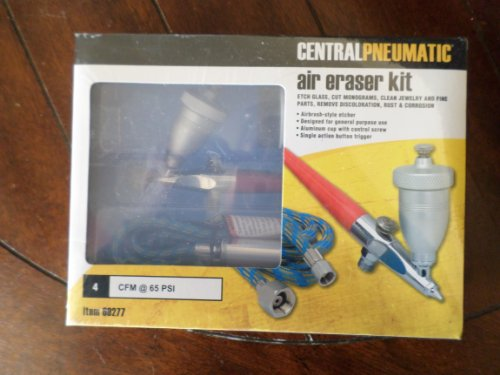 CENTRAL PNEUMATIC AIR ERASER KIT ~AIRBRUSH STYLE ETCHER~ iTEM# 69277 Review