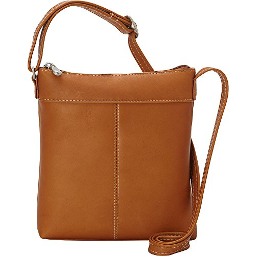 le-donne-leather-back-to-basics-crossbody-tan