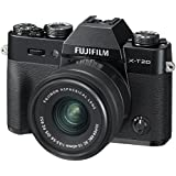 Fujifilm X-T20 Mirrorless Digital Camera w/XC15-45mmF/3.5-5.6 OIS PZ Lens - Black