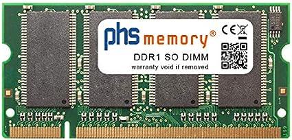 PHS-memory 256MB RAM módulo para HP DesignJet 510 (CH336A) DDR1 SO ...