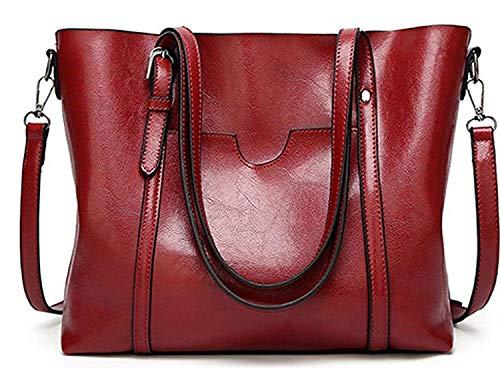 à Main Moontang Taille coloré Sac Sac Main à bandoulière Noir Rouge Messenger à Sac 8HR8rq