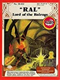 "Advanced Dungeons & Dragons - ""Ral"" Lord of the Balrogs SW"