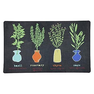 Mohawk Home Little Herb Garden Kitchen Mat