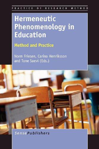 Hermeneutic Phenomenology in Education: Method and Practice (Practice of Research Method)