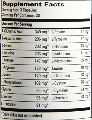 Progressive Labs Amino Blend Supplement, 90 Count Photo #7