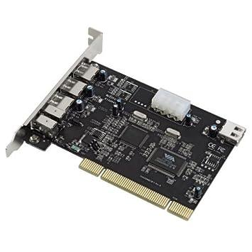 HAMA USB IEEE 1394 Firewire Combo Card Drivers for Windows 10