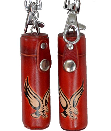 a-pair-of2-pieces-leather-keychain-chapstick-toothpick-holder-giant-eagle-or-giant-bull-pattern-more