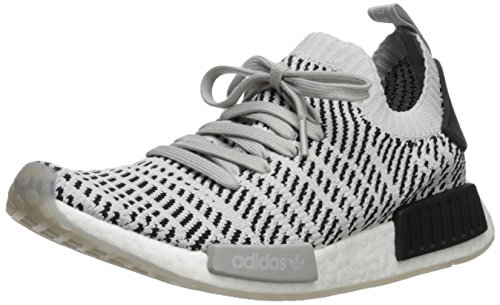 adidas Originals Men's NMD_R1 STLT PK Running Shoe, TwoGrey oneBlack, 10.5 M US