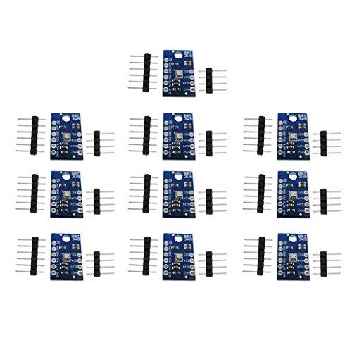 (kesoto 10pieces BME280 Temperature, Humidity, Barometric Pressure Sensor Module with SPI/I2C Interface for Arduino)