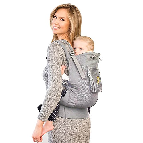 LÍLLÉbaby CarryOn Airflow 3-in-1 Ergonomic Toddler and Child Carrier, Mist - 20 to 60 lbs
