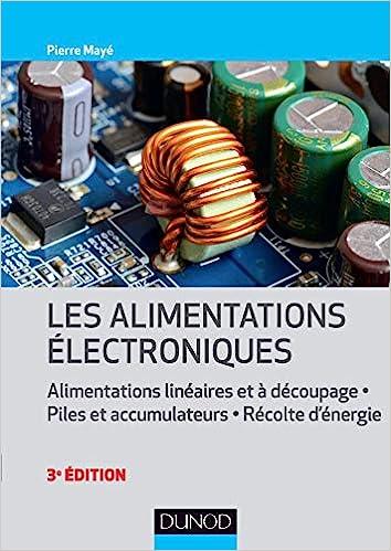 couverture du livre Les alimentations électroniques