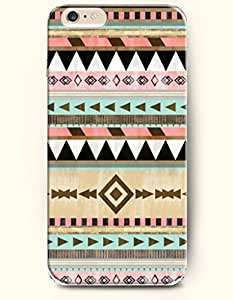 OOFIT Aztec Indian Chevron Zigzag Pattern Hard Case for Apple iPhone 4 4S ( Chevron Design Baseball Bat )