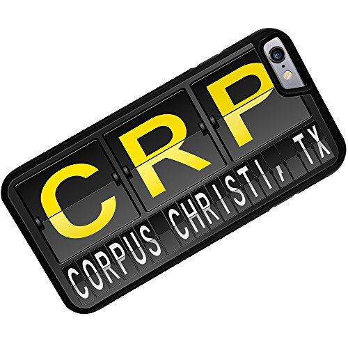 Case for iPhone 6 Plus CRP Airport Code for Corpus Christi, TX - Neonblond