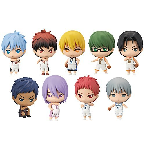 Most lottery Kuroko's Basketball does not practice game or J Award mini figure all nine