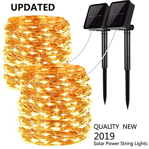 100 Led Fairy Solar String Lights in US - 5