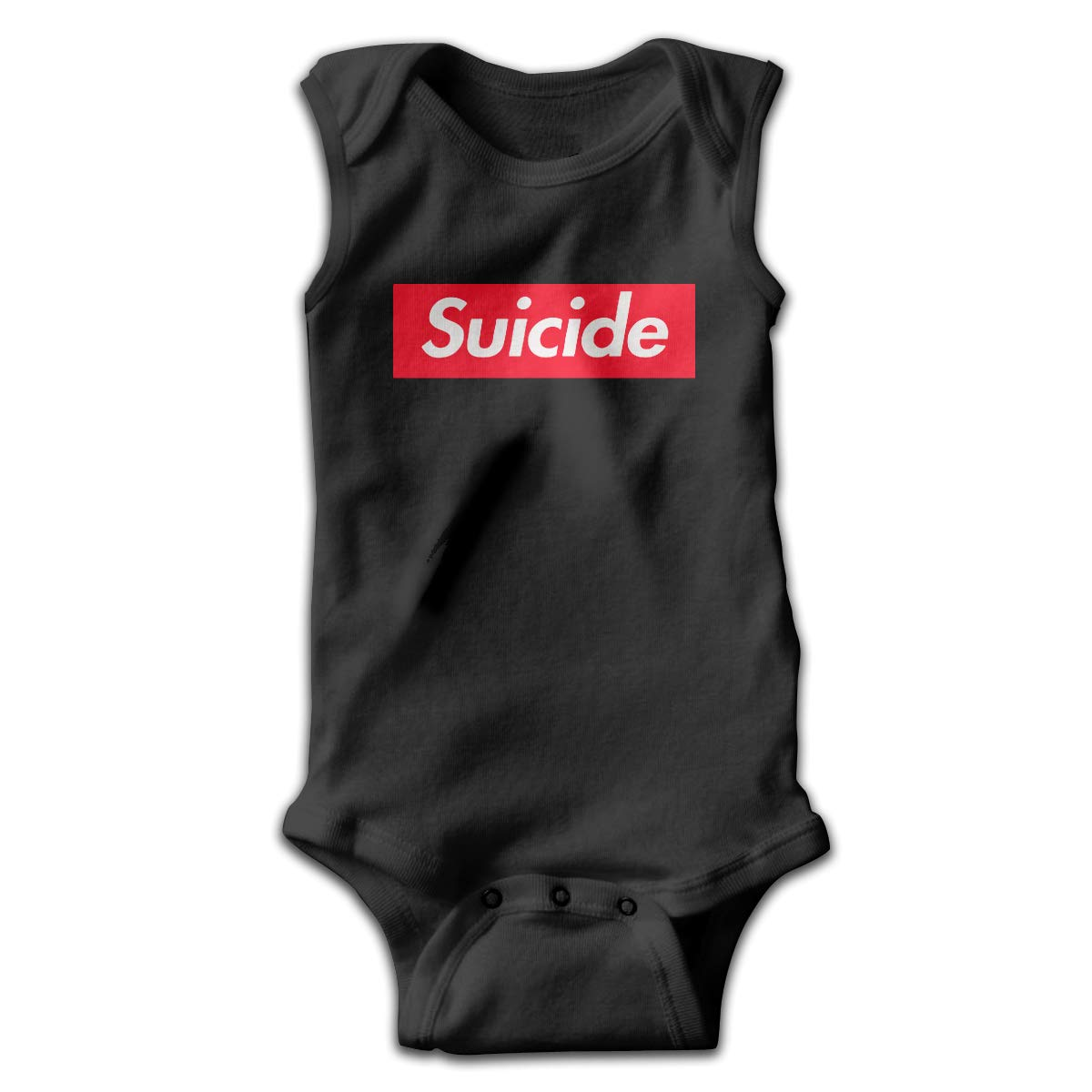 CZDewQ80 Baby Boys Baby Girls Suicide Sleeveless Baby Clothes Playsuit 100/% Cotton